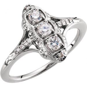 Anillo de compromiso en Monterrey Opal Diamond - Anillos de compromiso en Monterrey