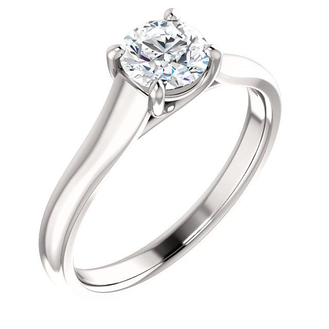 Solitaire Diamond Ring- Anillos de compromiso en Monterrey