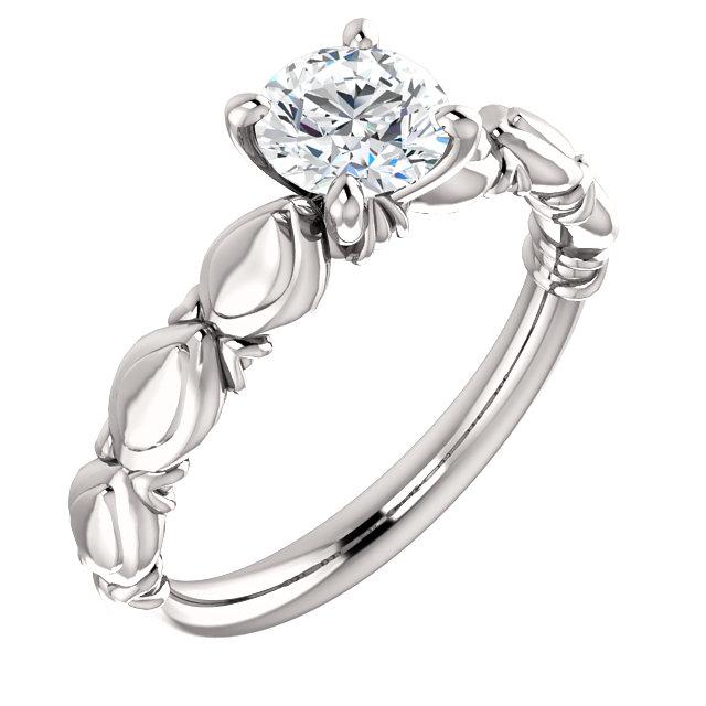 Side design Diamond Ring - Anillos de compromiso en Monterrey