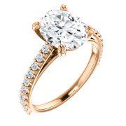 Delicate Accented Diamond Ring- Anillos de compromiso en Monterrey