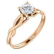 Infinity side solitaire Diamond Ring- Anillos de compromiso en Monterrey