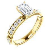 Estructural Accented Diamond Ring para tu anillo de compromiso en Monterrey